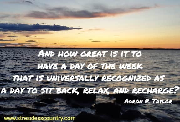 recharge yourself and relax quotes