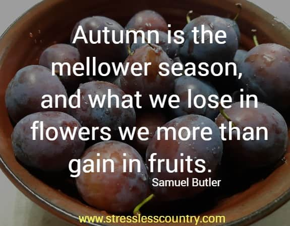 the autumn season quotes