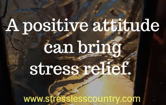 positive stress relief quotes