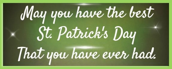 best st patricks day poems