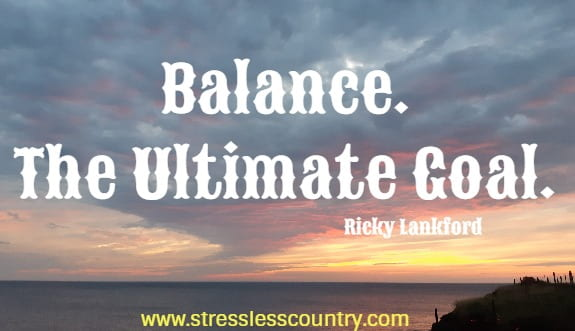 living a balanced life quotes