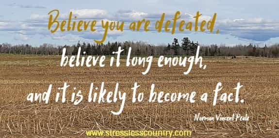 Feeling Defeated Quotes - Encouragement To Overcome