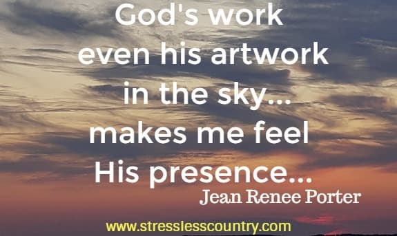 quote about God's artwork