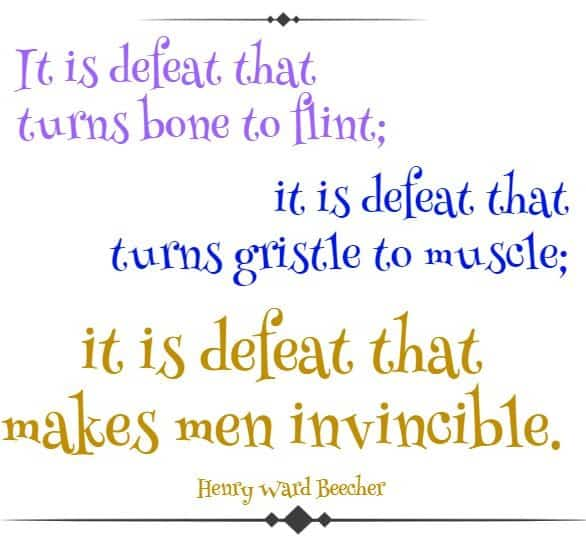 famous quotes about defeat