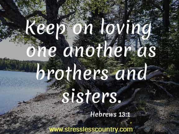 bible quotes about brotherhood
