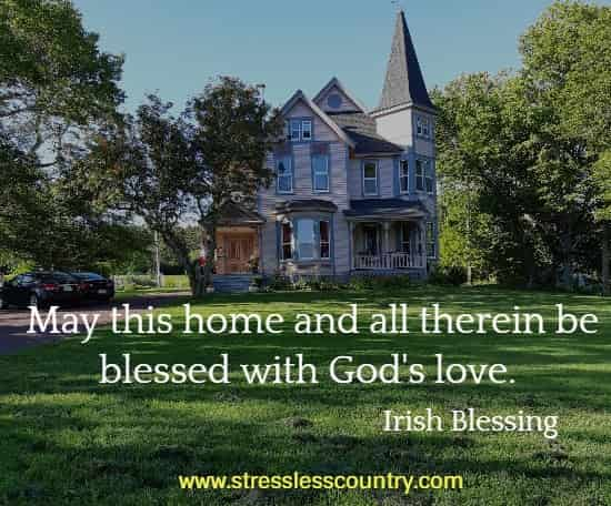irish blessing for your home