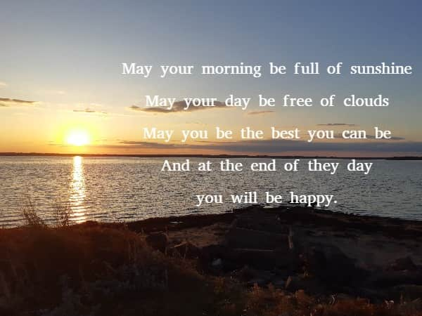 an irish blessing for your day