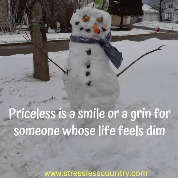 priceless is a smile