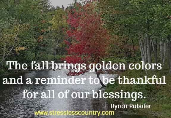 fall blessings quotes