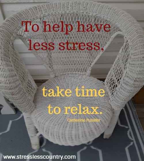 relax quotes to destress yourself