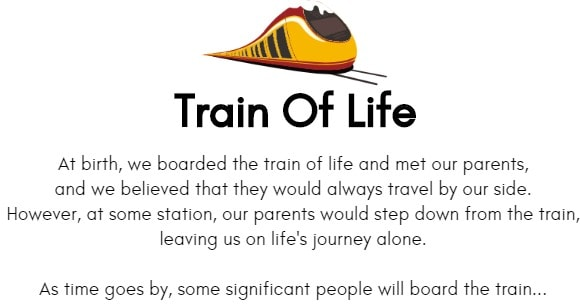 train of life poem