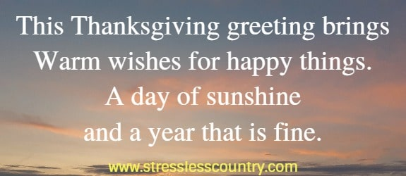 Happy Thanksgiving Greetings to Share
