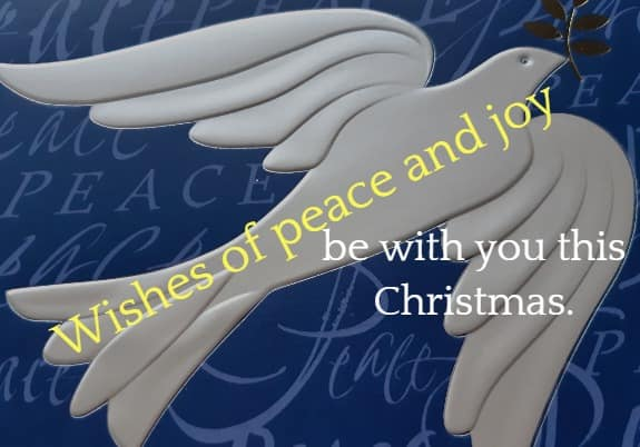 Christmas Wishes of joy and peace
